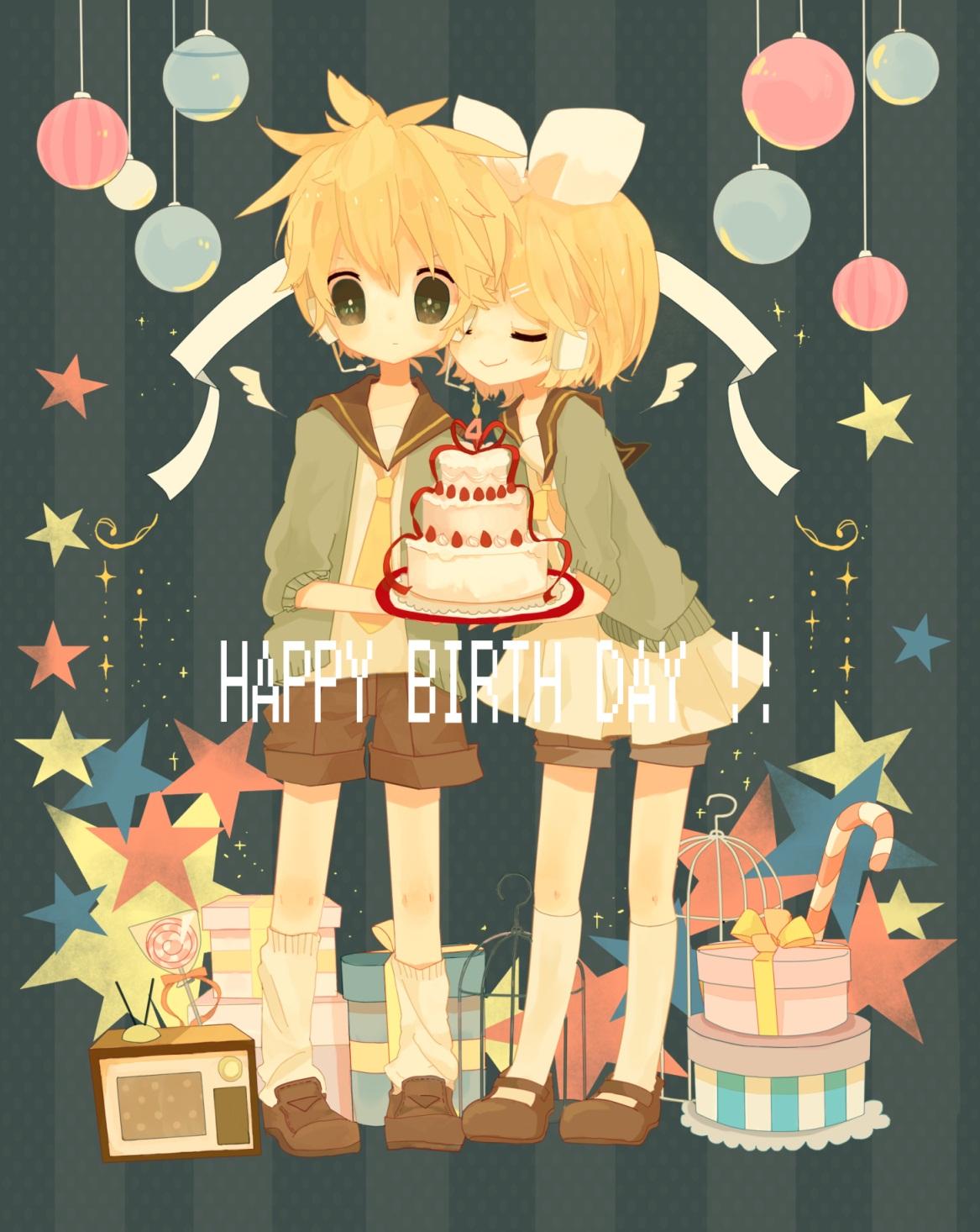Аниме поздравления с днем рождения картинки